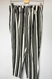 Spodnie Pasy Paseczki Shein S 36 Eleganckie Wizytowe...