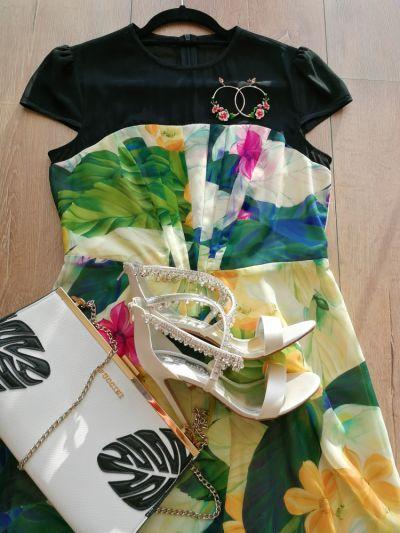 Suknie i sukienki Nowa sukienka w kwiaty floral dress Almost Famous