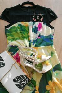 Nowa sukienka w kwiaty floral dress Almost Famous