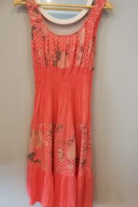 Letnia sukienka w kolorze Łososiowym rozm M...