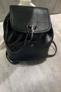 Czarny plecak Laura Ashley
