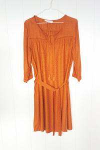 Sukienka Promod 44 XXL krótka wiosenno jesienna wiskoza boho hi...