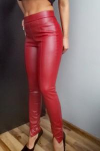 Skórzane spodnie Zara...