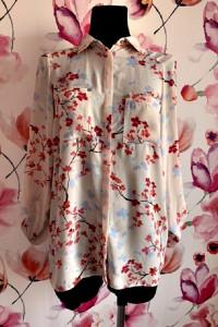 atnosphere koszula mgiełka modny wzór kwiaty floral hit 38...