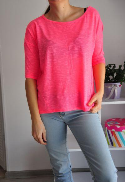 Bluzki Różowa bluzeczka