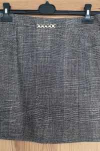 Spódnica szara w kratkę H&M...