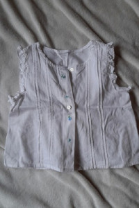 Śliczna biała bluzeczka r 110