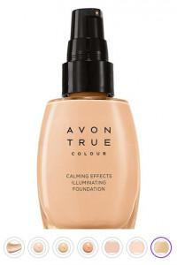 Podkład rozświetlająvy antystresowy Light nude Avon...