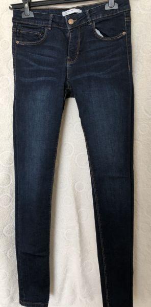 Spodnie Jeansy rurki Zara