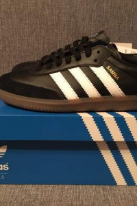 Adidas Samba OG rozmiar 40 US 7 Czarne Black NOWE UNISEX...
