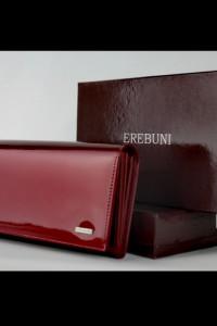 Damski portfel z naturalnej skóry Erebuni