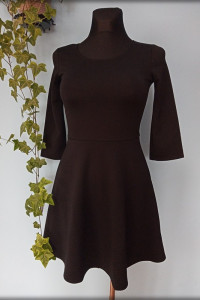 Terranova czarna sukienka Vintage...