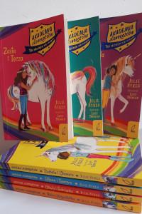Akademia jednorożców zestaw 7 książek...