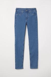 Nowe spodnie dżinsy jeansy H&M 36 44 XXL 46 XXL proste ciemnoni...