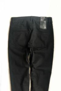 Nowe z metką H&M czarne rurki z dziurami high waist 38