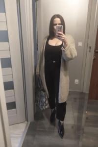 Długi sweter