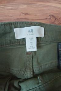 Spodnie wysoki stan H&M...