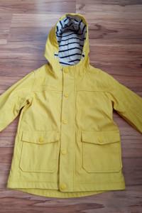Kurtka przeciwdeszczowa Next żółta dla chłopczyka