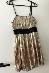 Sukienka na lato na cienkich ramiączkach...