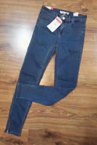 Damskie spodnie jeansowe XS