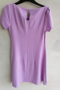 Sukienka trapezowa liliowa 3436...