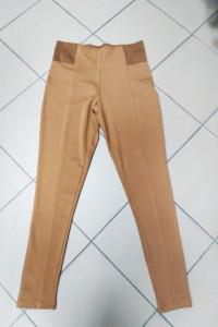 Spodnie legginsy rude miodowe Reserved L 40