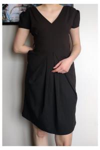 Czarna sukienka Orsay...