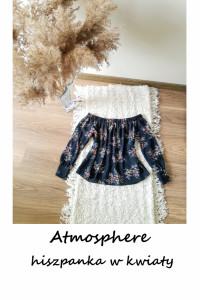 Bluzka hiszpanka w kwiaty Atmosphere XS S...