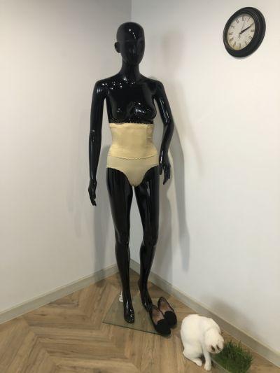 Gorsety i body Cieliste gorsetowe wyszczuplajace modelujace majtki XL