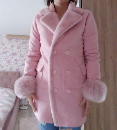 Odzież wierzchnia Płaszcz futro L XL