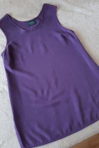 Nowa koszula vintage fioletowa L 40...