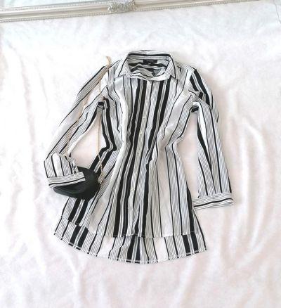 Koszule Atmosphere długa koszula pasy M