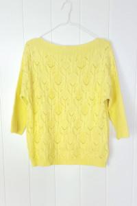 Nowy żółty sweter Reserved L 40 jaskrawy żółć neon łódka...
