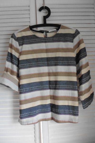 Bluzki bluzka Jakes bawełna koszula S M 36 38