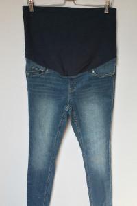 Spodnie Tregginsy H&M Mama Jeansy 46 Super Skinny Rurki...