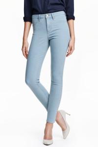 Nowe spodnie dżinsy jeansy H&M jasne niebieskie 34 44 XXL prost...