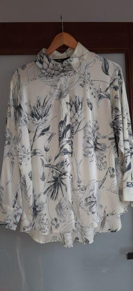 Koszule satynowa koszula Zara rozmiar S