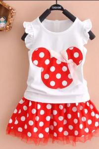 Myszka Minnie Miki spódniczka koszulka...