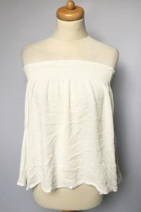 Bluzka Biała Hiszpanka Odkryte Ramiona M 38 Gina Tricot...