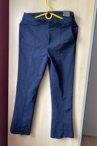 Zara Woman granatowe spodnie cygaretki...