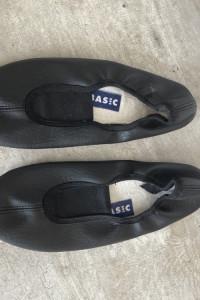 s4y basic baleriny czarne buty do baletu tańca rozmiar 38...
