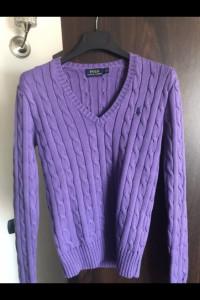 Fioletowy sweterek LAUREN...