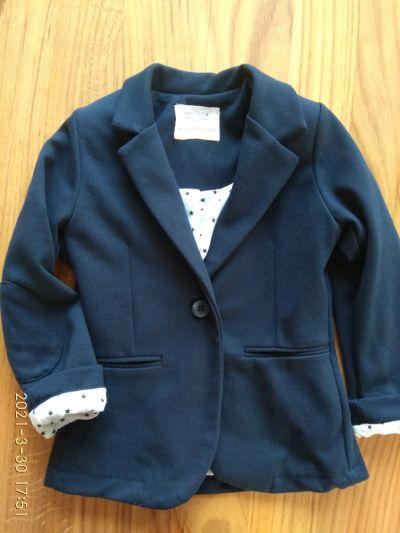 Bluzy Dziewczęca marynarka Zara