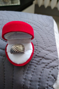 Srebrny pierścionek 925...