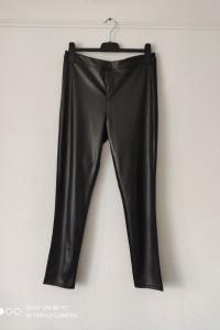 Spodnie legginsy ekoskóra XL 42