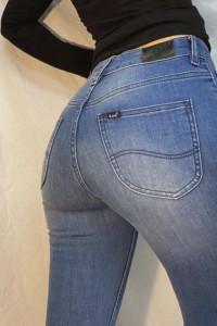 Nowe Jeansy oryginal marki Lee podkreślające talie...