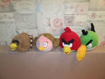 Zabawki Maskotki 4szt Angry Birds