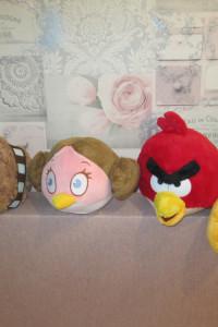 Maskotki 4szt Angry Birds