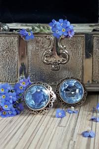 Wiosna w niebieskich szkiełkach...