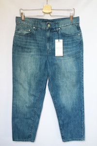 Spodnie NOWE Waven Dzinsy L 40 Długość 7 8 Jeansy...